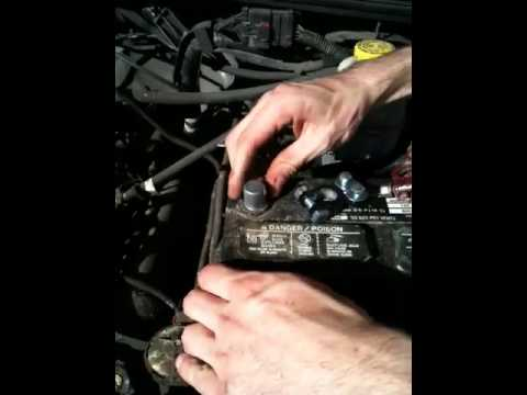 Battery terminal replacement