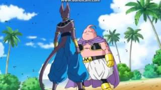 getlinkyoutube.com-Dragon Ball Super - Buu vs Beerus
