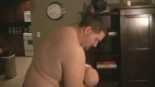 getlinkyoutube.com-funny breast feeding dad,  shape fitness okc ok