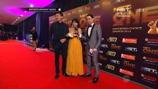 getlinkyoutube.com-Red Carpet NET ONE Ryan Delon dan Sharena Gunawan