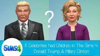 getlinkyoutube.com-If Celebrities Had Children in The Sims 4: Donald Trump and Hillary Clinton