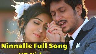 getlinkyoutube.com-Endendigu - Ninnalle Full Song Video | Ajai Rao | Radhika Pandit | V Harikrishna | Imraan Sardhariya