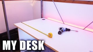 Building My BEST GAMING SETUP Part 1: Setting Up My Desk!
