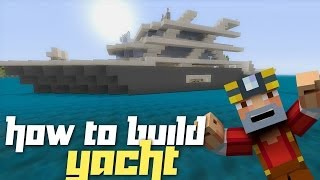 getlinkyoutube.com-Minecraft Xbox 360: How to Build a Yacht! (Part 1)
