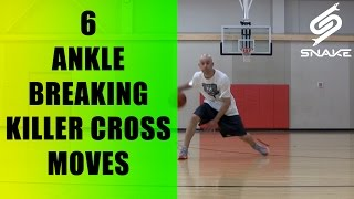 getlinkyoutube.com-Top 6 KILLER Crossover Moves - How To: Between The Legs Best Ankle Breakers