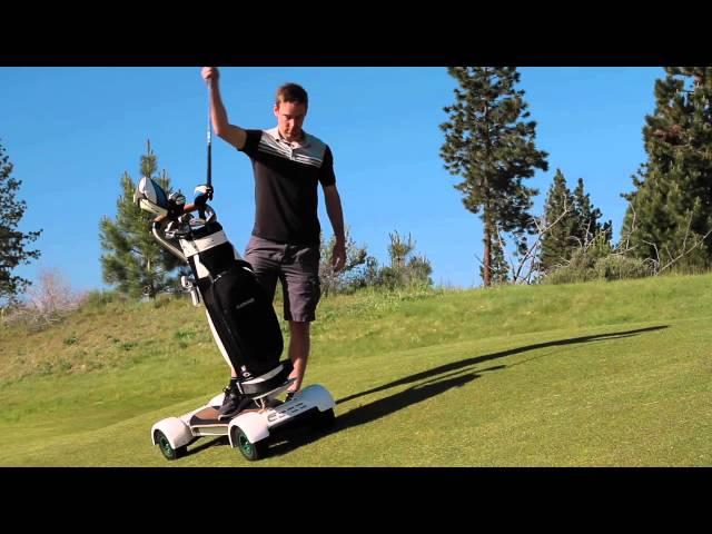 Surfa fram på fairway med GolfBoard - snart i Sverige? -Michael Broström