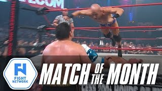 getlinkyoutube.com-AJ Styles vs Samoa Joe vs Christopher Daniels (Turning Point 2009) | Match of the Month