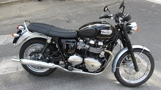 getlinkyoutube.com-2014 Triumph Bonneville T100 Start up and Sound