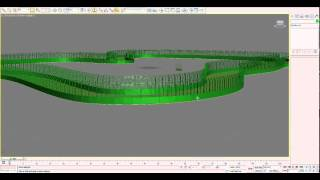 How to make Race cycle in 3D max by using RAIL CLONE (High Res)