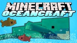 getlinkyoutube.com-Minecraft Mods - Oceancraft Mod - WHALES,SHARKS,NETS! (Minecraft Mod Showcase)