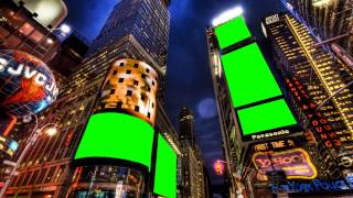 getlinkyoutube.com-new york city in green screen free stock footage