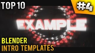 getlinkyoutube.com-TOP 10 Blender Intro templates #4 (Free download)