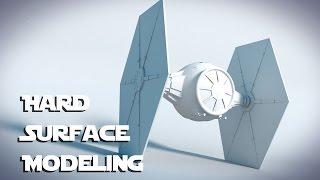 getlinkyoutube.com-Star Wars Tie Fighter : Blender Tutorial : 01 : Hard Surface Modeling