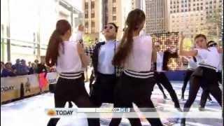 "getlinkyoutube.com-PSY ""Gentleman"" live on NBC's 'Today Show' New York City"