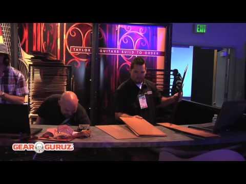 Robert Egnacheski - Taylor Guitars - NAMM 2010 Show - Day 2 Coverage