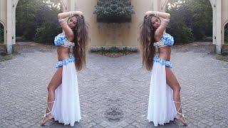 getlinkyoutube.com-Isabella Arabic Belly Dance - Ramy Sabry - Lyali رامي صبري - ليالي HD