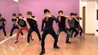 getlinkyoutube.com-100% - Bad Boy mirrored Dance Practice 2