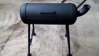 getlinkyoutube.com-Мангал-барбекю с газового баллона своими руками. Пошаговая инструкция.