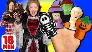 getlinkyoutube.com-Halloween Finger Family & More Finger Family Songs | Daddy Finger Collection