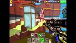 getlinkyoutube.com-Pixel Gun 3D: Sniper Forts (GLITCH)- 9.0.4