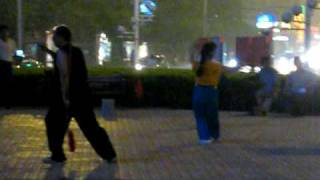 getlinkyoutube.com-Evening Aerobics (part 3) in China