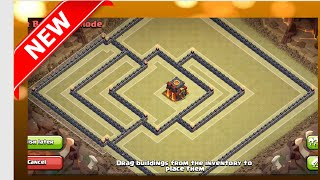 getlinkyoutube.com-BEST New Popular TH10 War Base  - Arrow Head | Anti-Gowipe, Gowiwi, Lavaloon | Clash Of Clans