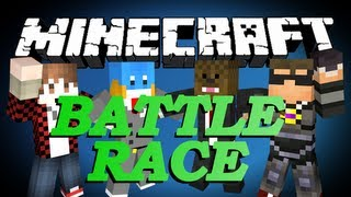 getlinkyoutube.com-Minecraft BATTLE RACE Minigame w/ SkyDoesMinecraft, BajanCanadian and HuskyMudkipz!