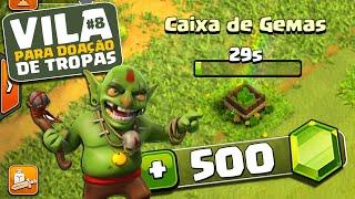 getlinkyoutube.com-NOSSO CV 3 TÁ FICANDO BOLADÃO! VPDT #8 - CLASH OF CLANS