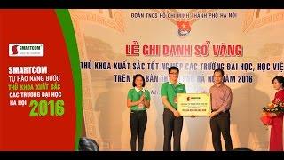 Smartcom tự hào nâng bước thủ khoa xuất sắc các trường đại học Hà Nội 2016