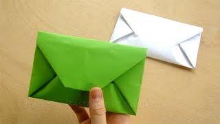 getlinkyoutube.com-Origami: Briefumschlag falten - Einfaches DIY Kuvert basteln mit Papier  DIN A4