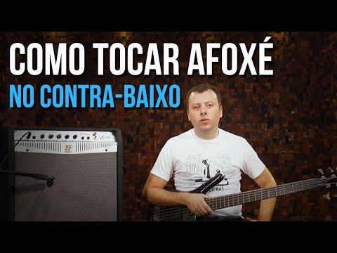 Como tocar Afox� (aula t�cnica de contra-baixo)
