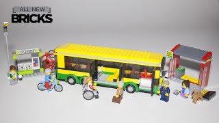 Lego City 60154 Bus Station Speed Build