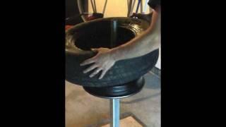 getlinkyoutube.com-Tyre pliers/ Tire pliers manual tire changer