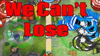 Vortex Storm - HOW COULD WE POSSIBLY LOSE? Bloons TD Battles Epic Game