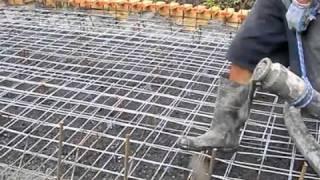 getlinkyoutube.com-Concrete Slab Pour