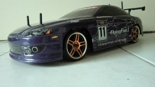 getlinkyoutube.com-HSP Flying Fish Drift Car - HD    (Toyota Soarer)