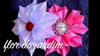 getlinkyoutube.com-Flor de Fitas de Cetim Passo a Passo -satin ribbon rose ,Rose Tutorial, DIY