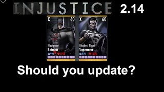 getlinkyoutube.com-Injustice Mobile 2.14: Should you update? plus first impressions