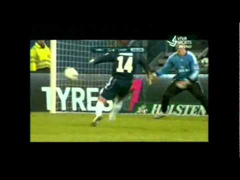Los Amigos de Ronaldo & Zidane Vs Hamburger All Stars  4-5 Resumen [13/12/2011]