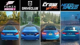 getlinkyoutube.com-Forza Horizon 3 vs. DriveClub vs. The Crew vs. Need For Speed | Graphics, Rain Comparison PS4 & Xbox
