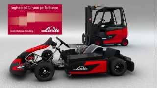 getlinkyoutube.com-Electric kart: world record with Linde E1