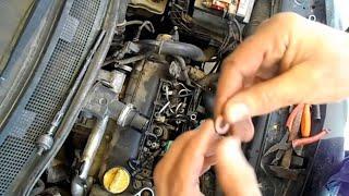getlinkyoutube.com-1.5 dci change le joint d'étanchéité c'est le joint d'injecteur qui a lâche