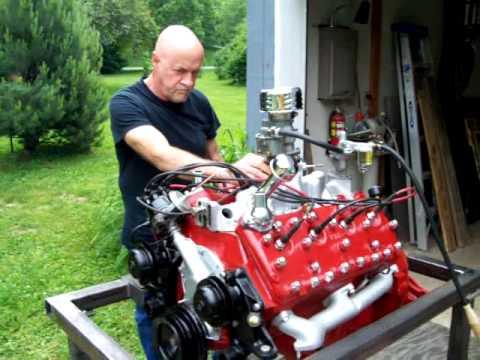 Flathead Engine Test Run