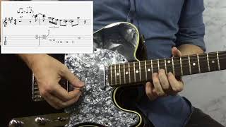 Bluesy Bent Double Stop Lick for Shuffle