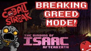 getlinkyoutube.com-Binding of Isaac Afterbirth #23 - Breaking Greed Mode - Cobalt Streak