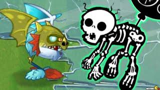 getlinkyoutube.com-Plants Vs Zombies 2 - Plants Vs Dinosaurs Endless Challenge Jurassic Marsh!