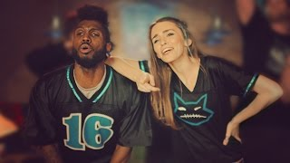 getlinkyoutube.com-GAME DAY DANCE BATTLE! (Amymarie Gaertner, Kaycee Rice, Glitch, Gev) // SCOTTDW