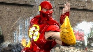 getlinkyoutube.com-Mortal Kombat Komplete PC Mods Flash , Green Lantern , Robin & Fatalities!