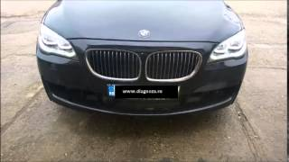 getlinkyoutube.com-BMW F01 LED Headlight Retrofit