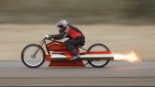 getlinkyoutube.com-Fastest twin Pulsejet engine Motorcycle !